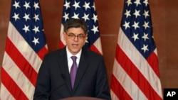 Le secrétaire américain au Trésor, Jacob Lew