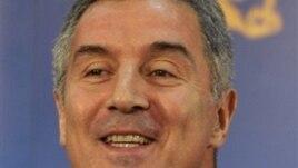 Predsednik Demokratske partije socijalista Milo Đukanović