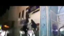 مردم خشمگین اراک با شعار «مرگ بر خامنه ای» به پایگاه بسیج حمله کردند