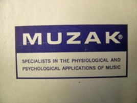 "Muzak was a pioneer in both ""background music"" and the psychological possibilities that it presents."