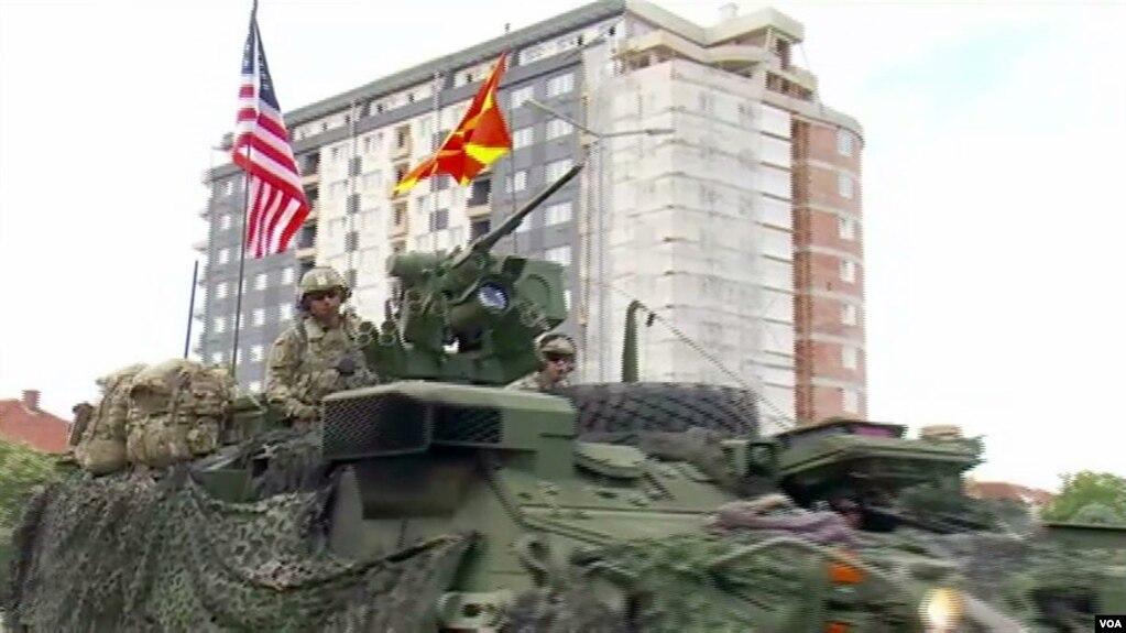 """Fillon në Maqedoni stërvitja ushtarake """"Dragon Guardian"""""""