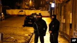 Policia belge ne Verviers, Belgjike