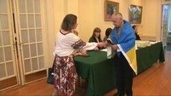 Українці голосують у Вашингтоні