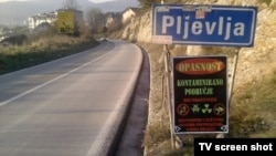 Ulaz u Pljevlja