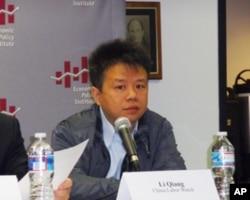 """""""中國勞工觀察""""執行主任李強"""