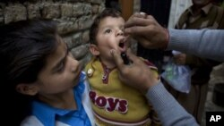 Nangarhar's health department says that tens of thousands of children in insecure areas may miss out on polio immunization.