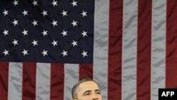Барак Обама во время обращения к Конгрессу «О положении дел в стране» 25 января 2011г.