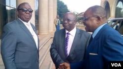 Simon Khaya Moyo and other Zanu PF members.ser