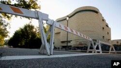 미국 연방정부 폐쇄 이틀째를 맞은 2일, 수도 워싱턴의 아메리칸인디언박물관도 임시휴관 중이다.