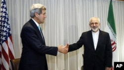 وزرای خارجه امریکا و ایران