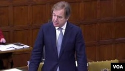 Hugo Swire in Parliament