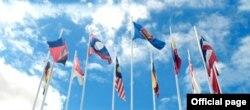 Bendera za nchi wanachama wa Jumuiya ya ASEAN