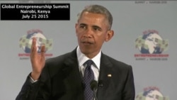 President Obama's Remarks at Global Entrepreneurship Summit