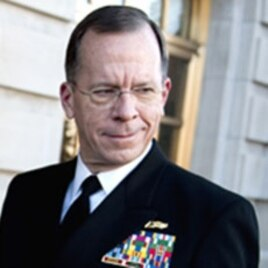 Navy Adm. Mike Mullen, chairman of the Joint Chiefs of Staff