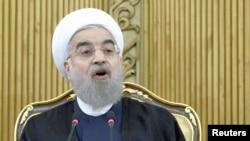 하산 로하니 이란 대통령. (자료사진)