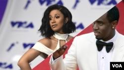 Top Ten Americano: P. Diddy é o manda-chuva; Cardi B é sempre a subir!!!