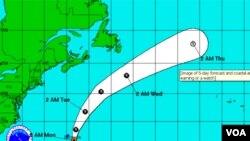 Gert es la séptima tormenta con nombre de la temporada de huracanes 2011 en el Atlántico.