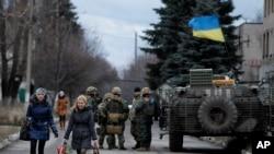 Donetsk oblastining Debalsevo qishlog'i