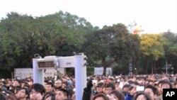 Taiwan testa mísseis enquanto presidente chinês segue para Washington