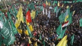 Falasdinawa suke murnar shirin tsagaita wuta tsakanin Isra'ila da Hamas