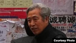山东大学管理学院退休教授、独立参选人孙文广