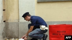 Eksplozivne pošiljke u Rimu