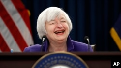 Former Federal Reserve Chair, Janet Yellen