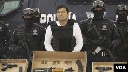 Pemerintah AS mengumumkan rencana baru menarget kartel-kartel kriminal seperti kartel narkoba di Meksiko (tengah).