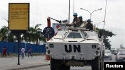 Lực lượng gìn giữ hòa bình LHQ.