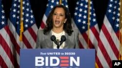 Calon wakil presiden Kamala Harris, akan menyampaikan alasan untuk memilih Joe Biden hari Rabu (19/8) malam.