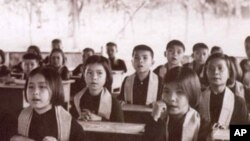 Children of the Khmer Rouge high officials.