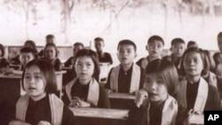 Children of the Khmer Rouge high officials.