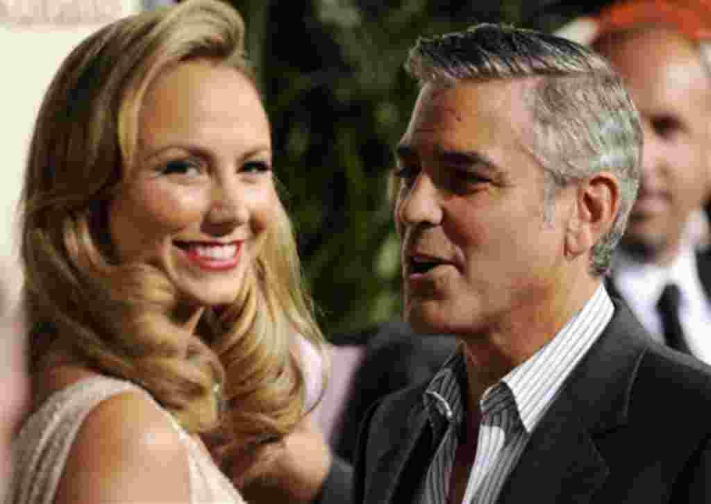 """Mejor Actor: George Clooney por su papel en """"Los descendientes""""."""