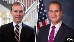 Republican ပါတီအမတ္ Mario Diaz-Balart နဲ႔ Democrat အမတ္ Ben McAdams