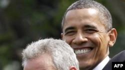 Барак Обама и Рам Эмануэль