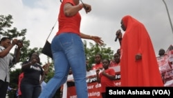 Masu fafutikar ganin an sako 'yan matan Chibok