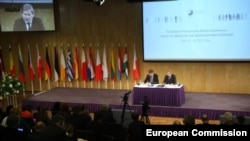 Komesar EU za politiku susedstva i pregovore o proširenju Johanes Han, danas u Rigi