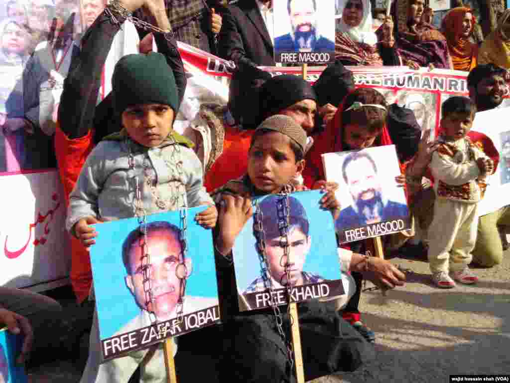 بلوچستان میں ایک عرصے تک لاپتا افراد کے معاملے پر انسانی حقوق کی تنظیمیں آواز اٹھاتی رہی ہیں۔