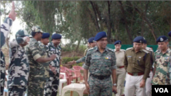 India's Reserve Police Force Director General Prakash Mishra