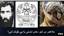 塔利班领导人奥马尔。