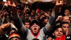 世界各國歡迎穆巴拉克辭職