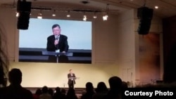 북한에 억류됐다 풀려난 임현수 목사