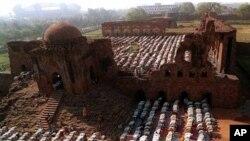 Diperkirakan sekitar 100.000 Muslim India setiap tahun mendapat manfaat dari perjalanan naik haji bersubsidi (foto, dok.).