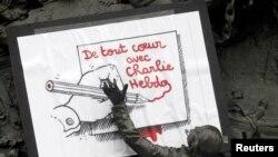 Un dessin de Pantu à Paris (Reuters)