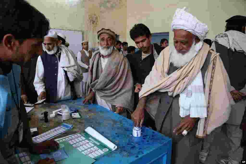 Աֆղանստանում նախագահական ընտրություններ են