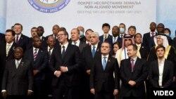 Grupna fotografija učesnika samita Pokreta nesvrstanih (izvor: www.nam60.com)