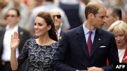 Британский принц Уильям и его супруга Кэйт, герцог и герцогиня Кембриджские