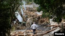 Tajfun naneo veliku štetu u Japanu