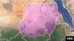 Ramani ya Sudan