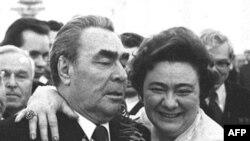 Леонид Брежнев и его дочь Галина